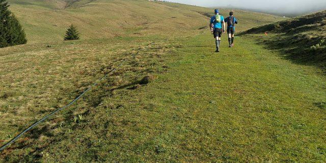 Trail sur le chemin Stevenson