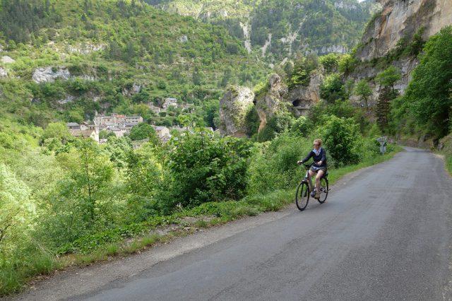 Vélo électique Gorges du Tarn