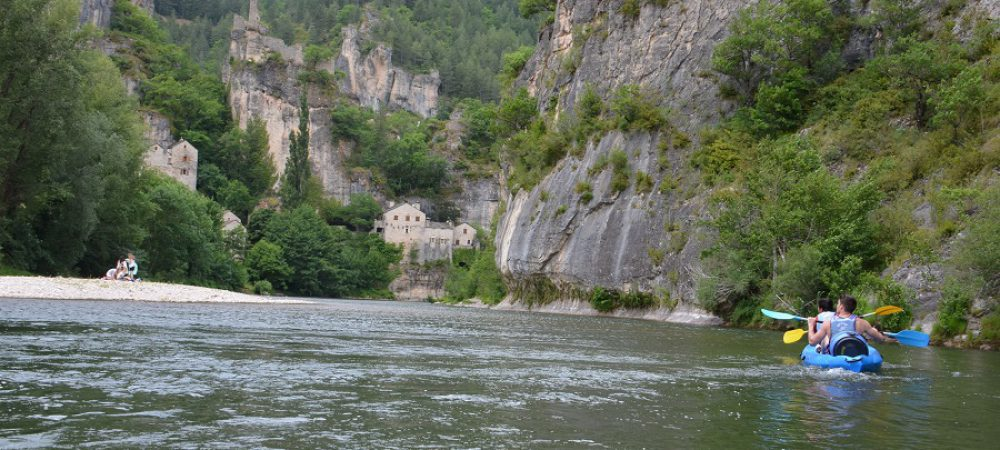 Canoë Castelbouc